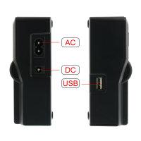 Schnell Doppel Ladegerät für 2 Akkus für Canon MV400 MV400i MV410 MV430i MV450i
