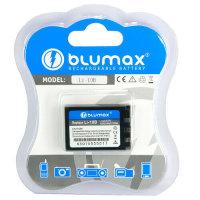 Blumax Akku Für Olympus und Sanyo VPC-J1EX Xacti...