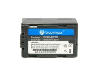 Blumax Akku für Panasonic CGR-D220 NVGS33 NV-MD9000...