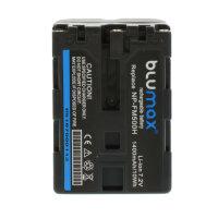 Blumax Akku NP-FM500H für Sony Alpha DSLR-A700 a700...