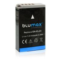Blumax Ersatz Akku 800 mAh für Nikon EN-EL24...