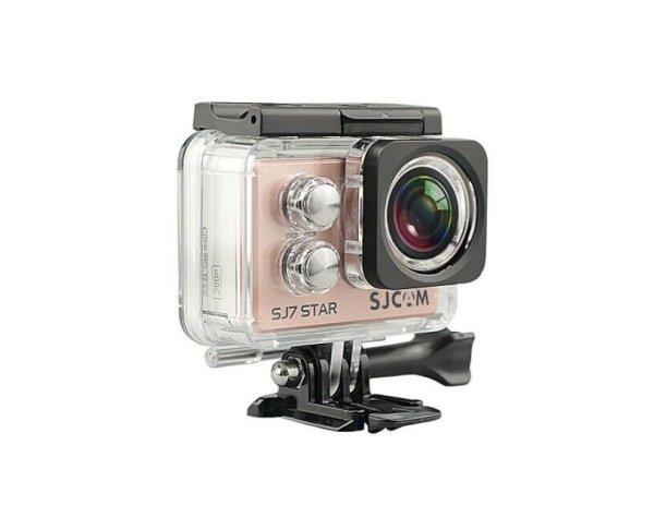 "SJCAM SJ7 STAR RGD ""STAR 4K NATIV"" Actionkamera 16MP Touchscreen WLAN rosegold"