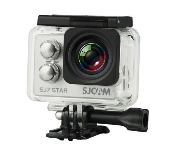 "SJCAM SJ7 STAR RGD ""STAR 4K NATIV"" Actionkamera 16MP Touchscreen WLAN silber"