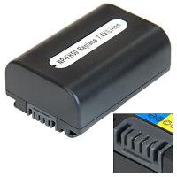 Ersatz Akku NP-FH50 für Sony DCR-HC54 DCR-HC53E...