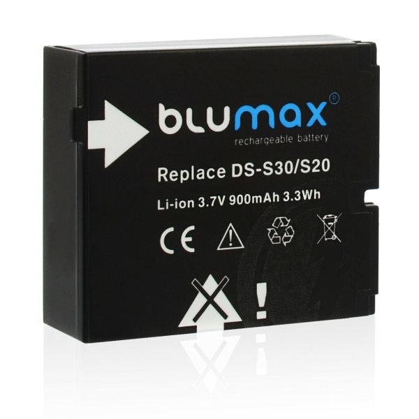 Original Blumax Batterie Akku für Rollei DS-30 / S20 Bullet 3S / 4S / 5S / 5S